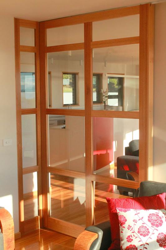 Pisano sliding glass infill door